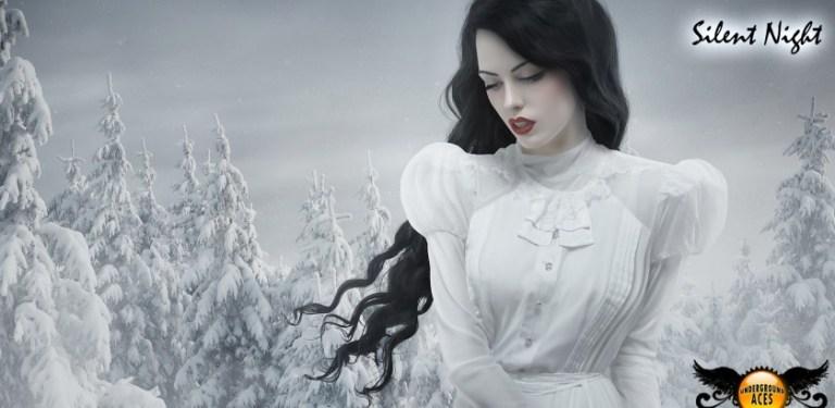 Silent Night Illustration   Ana Cruz