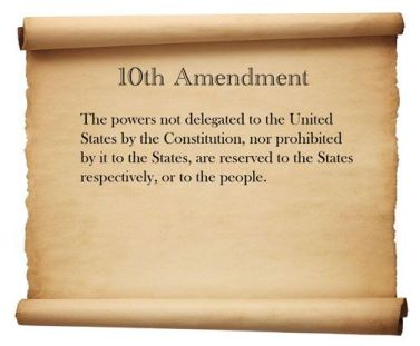 10th amendment