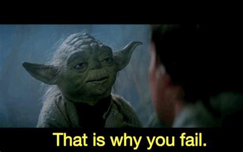 yoda-failure