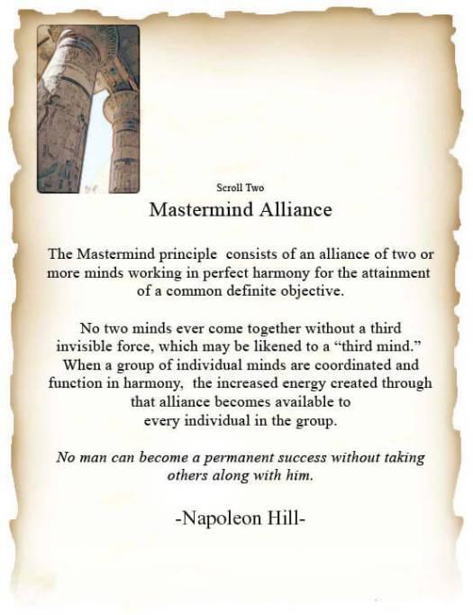 napoleon hill mastermind