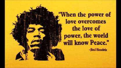 power of love jimi hendrix