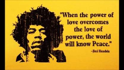 power of love jimi hendrix