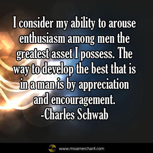 schwab encouragement