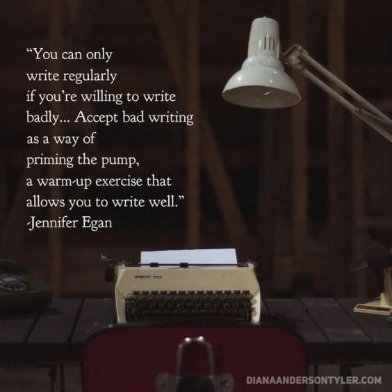 write regularly jennifer egan
