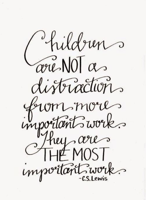 children important work