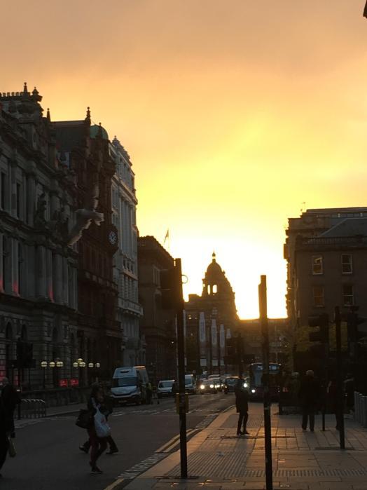 Glasgow sunrise