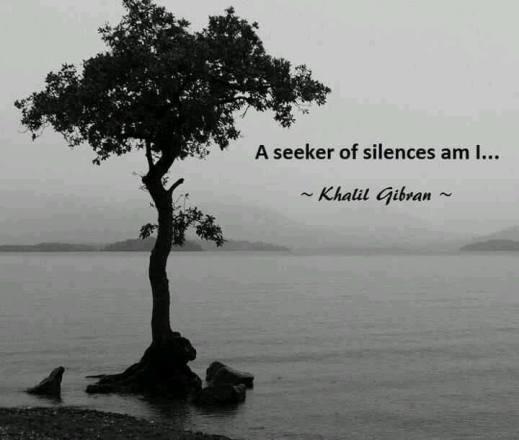 seeker of silences gibran