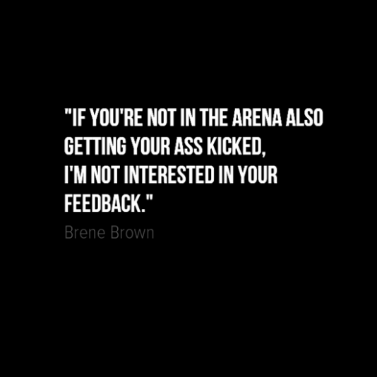 man in the arena brene brown