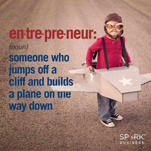 entrepeneur build plane cliff