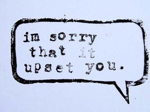 non-apology