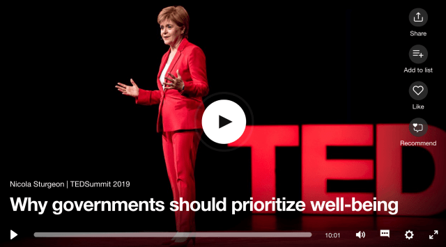 TED Nicola Sturgeon what do you measure