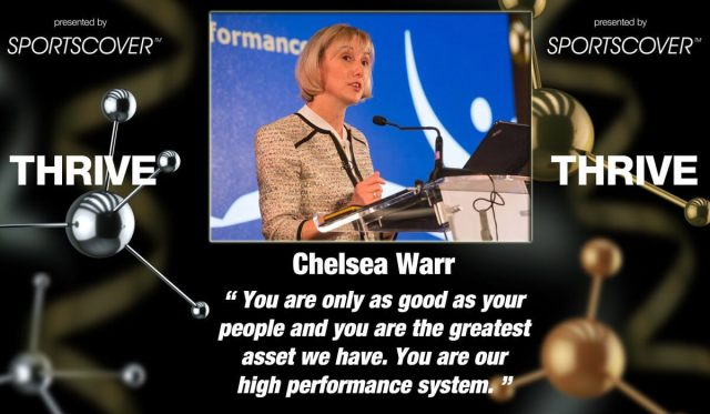 You are only as good as your people - Chelsea warr