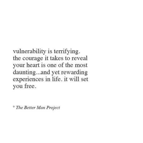 better man vulnerability
