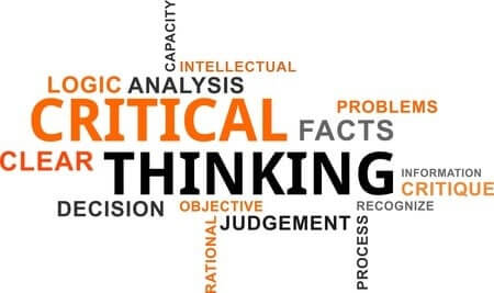 Critical Thinking Word Art