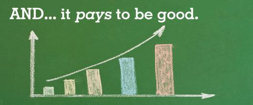 doing good pays