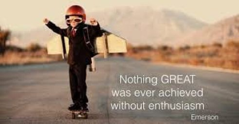 Nothing great was ever achieved without enthusiasm - Emerson