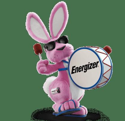 Energizer Bunny Managing energy