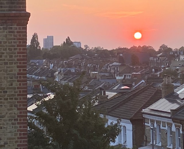 Fall in Love more with sunset over Wandsworth