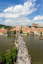 Charles Bridge tower view