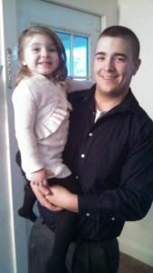 Lil Chris and Olivia Lynn
