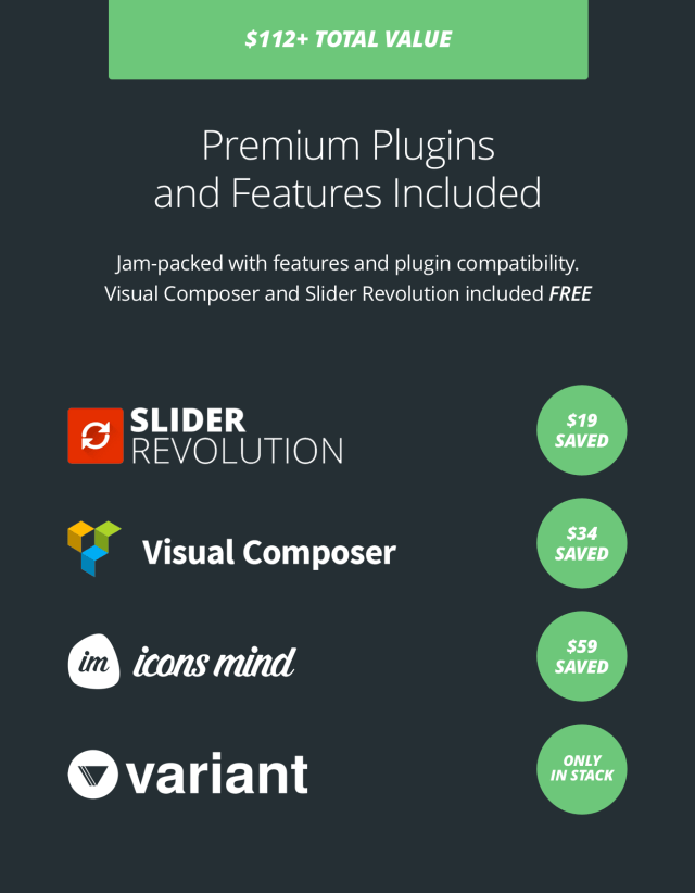 Stack - Multi-Purpose WordPress Theme with Variant Page Builder & Visual Composer 7