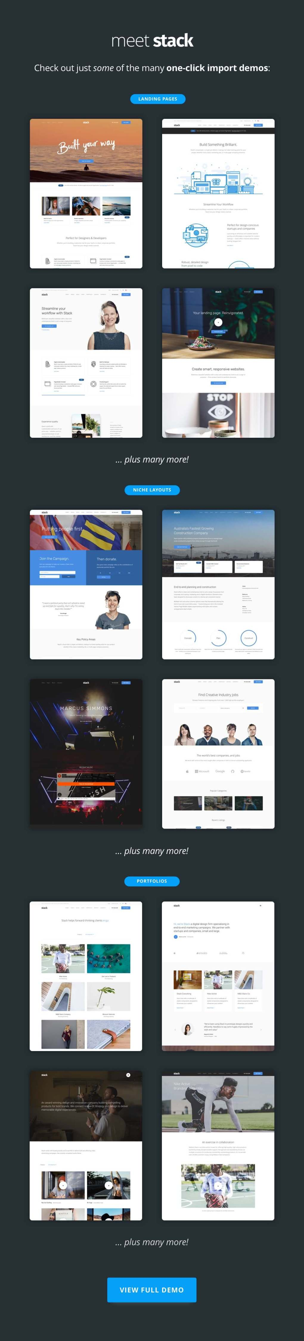 Stack - Multi-Purpose WordPress Theme with Variant Page Builder & Visual Composer 2