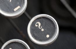 questionmark_typewriter
