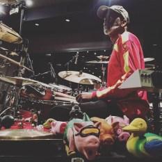 Tommy's PORKESTRA in the recording studio