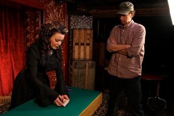Nov. 11, 2013 - Ben Churchill & Misty Lee at the Magic Castle in Hollywood, CA (Photo by Kari Hendler)