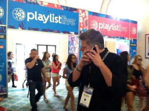 March 22, 2014 - Tommy Edison at Playlist Live in Florida