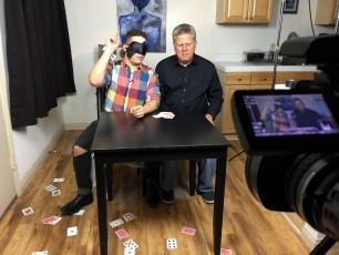Sept. 23, 2016 - Tommy Edison and Elijah Pysyk (TheElijahTalk) shoot a collab video