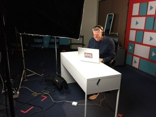 March 5, 2017 - Tommy Edison filming YouTubers React