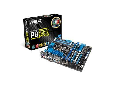 ASUS P8Z68-V, Socket-1155