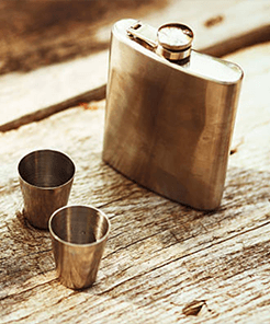 Flasks & Barware