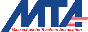 Massachusetts Teachers Union banner