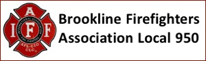 Brookline Fire Fighters Association Local 950 banner