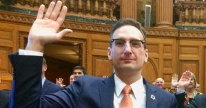 Tommy Vitolo State House Swearing In