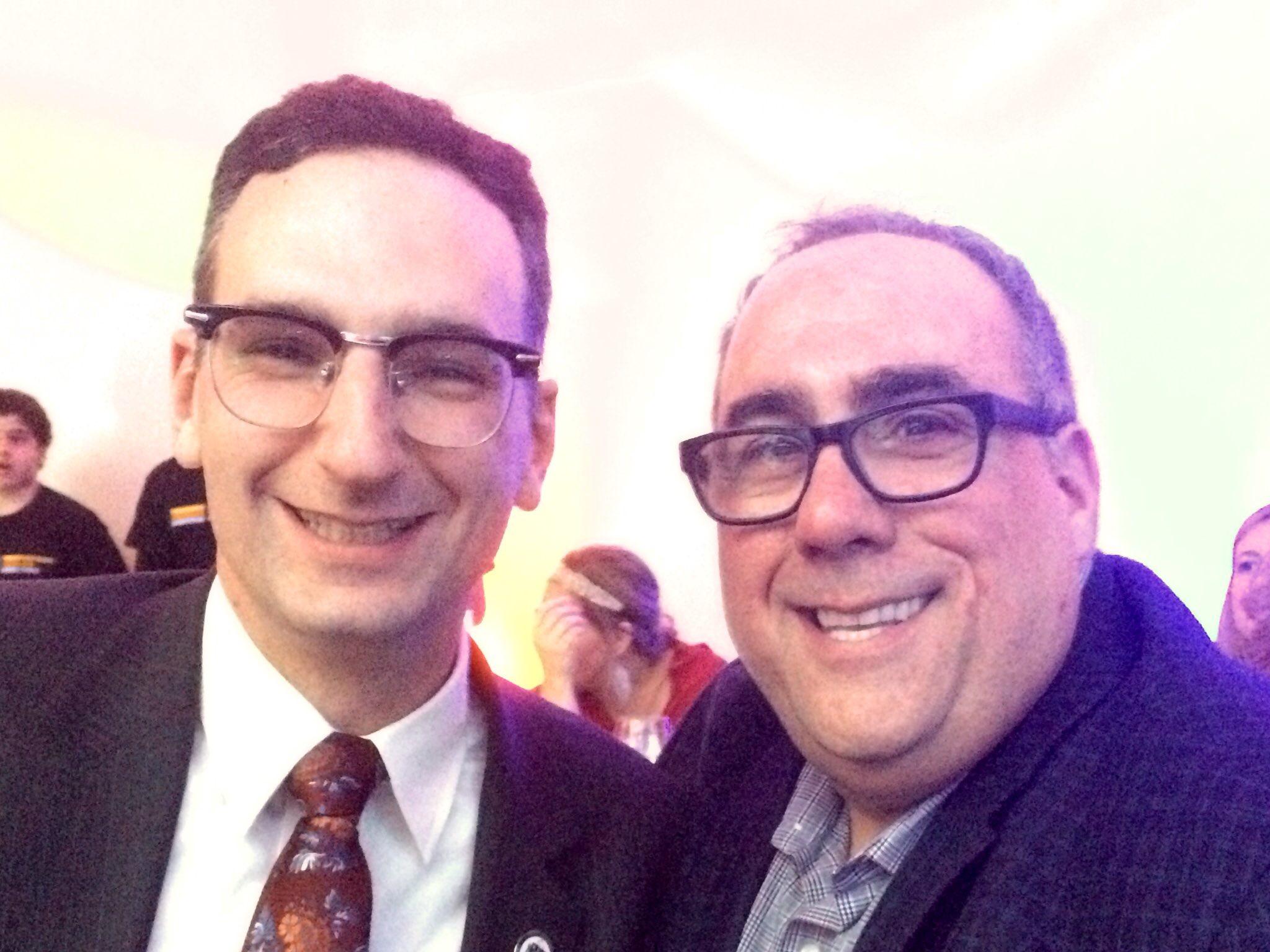 Tommy Vitolo and David Lazowski at the Brookline Teen Center gala