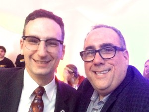 Tommy Vitolo and David Lazowski at the Brookline Teen Center gala