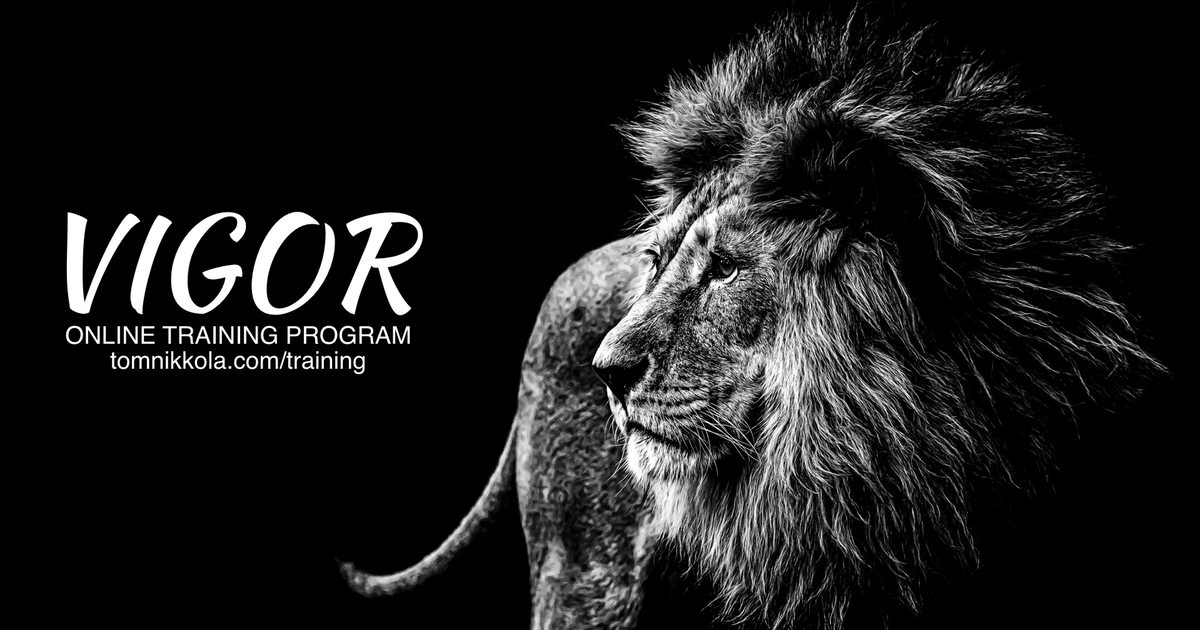 Vigor Online Training Program | Tom Nikkola