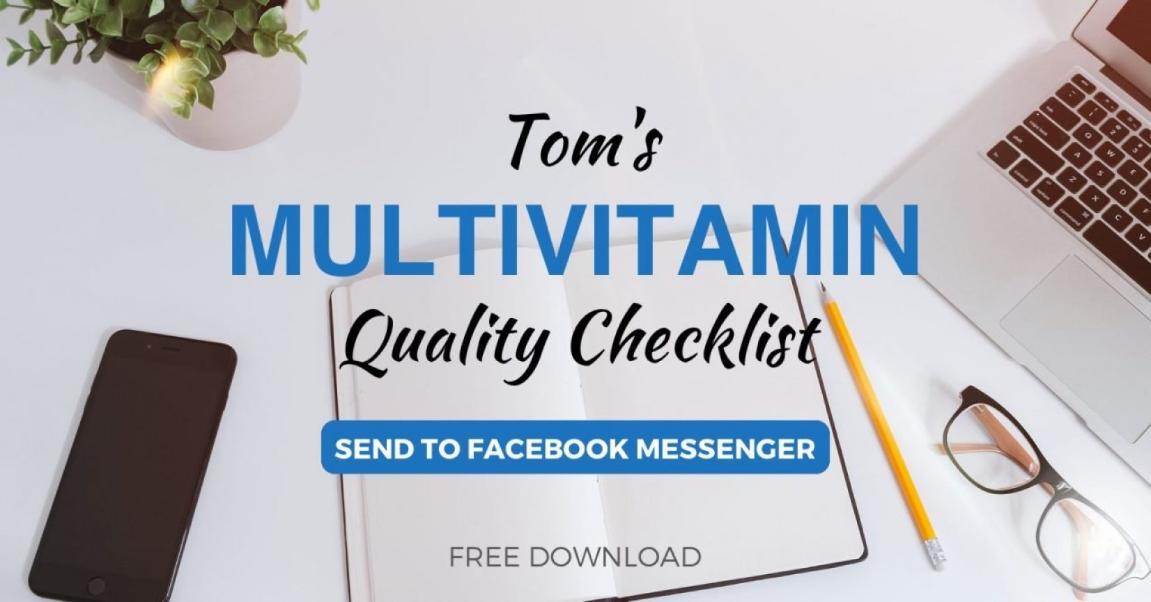 Multivitamin Checklist | Tom Nikkola