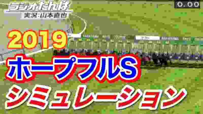 2019年ホープフルS コンピュータ予想 【競馬シミュレーション】
