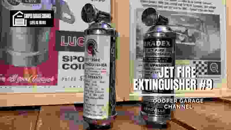 レアパーツ当時物消化器!!BMC  BRADEX FIRE EXTINGUISHER #9