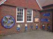 Welcome display at Westbourne