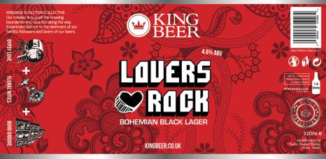 KingBeer lovers rock label