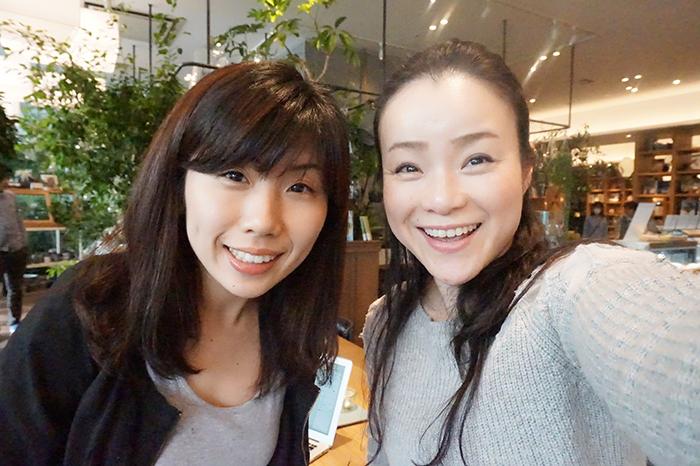 毛利優子さんと宮本直美