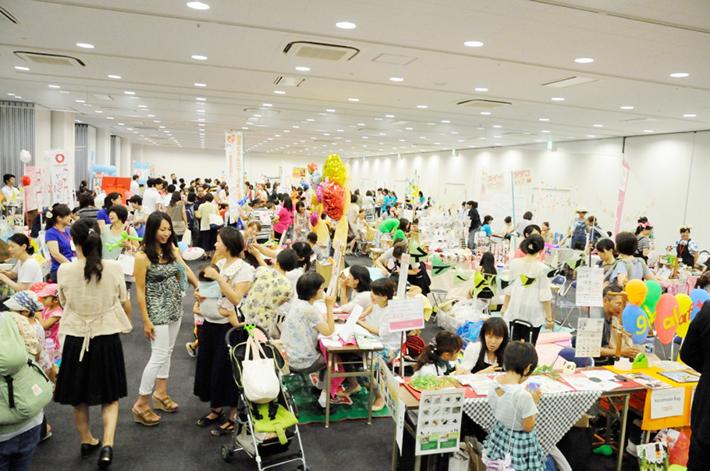 2015年笑顔で働きたいママのフェスタin名古屋での様子