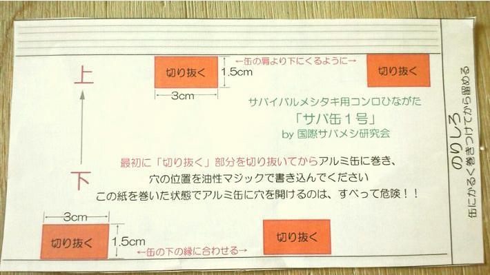サバメシ_型紙
