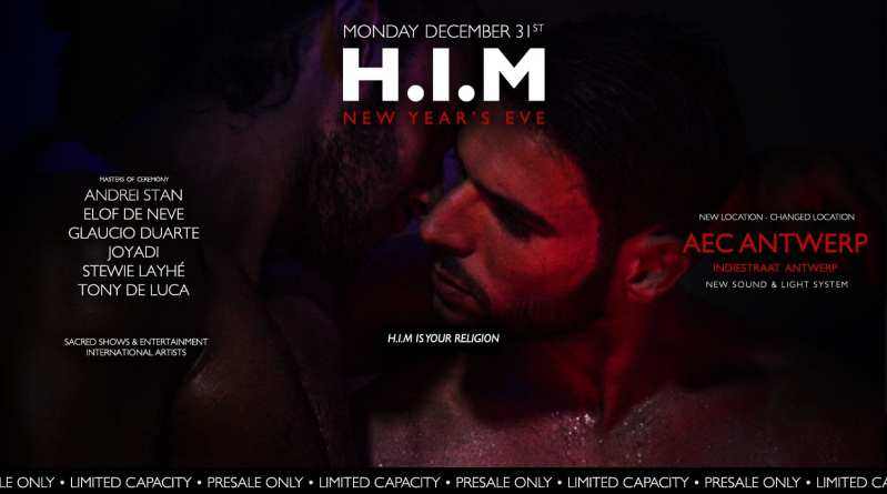H.I.M New Years Eve Gay Circuit Party