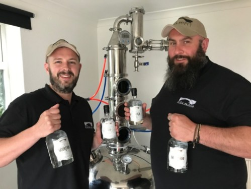 blackbridge gin, gin makers, gin tasting